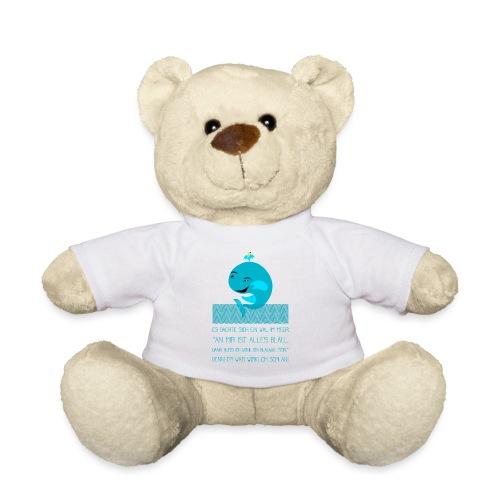 Blauwal - Teddy