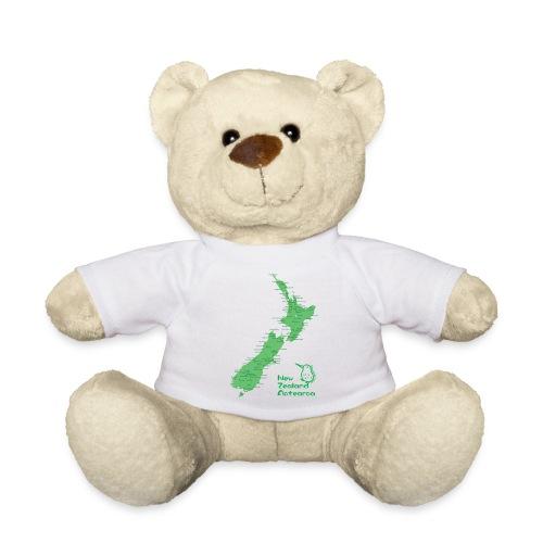 New Zealand's Map - Teddy Bear