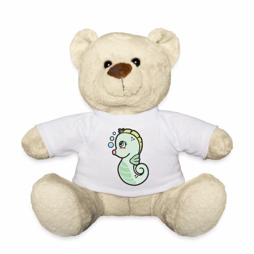 Seepferdchen grün - Teddy