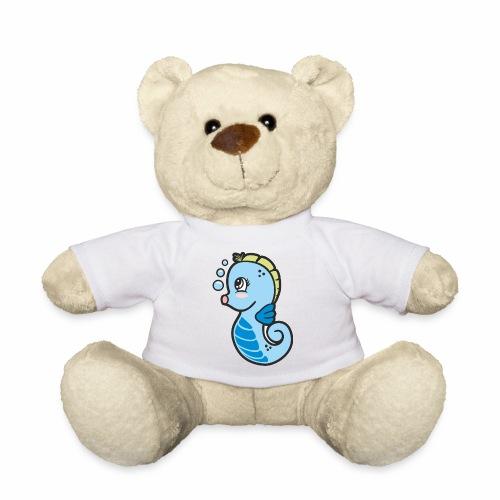 Seepferdchen blau - Teddy