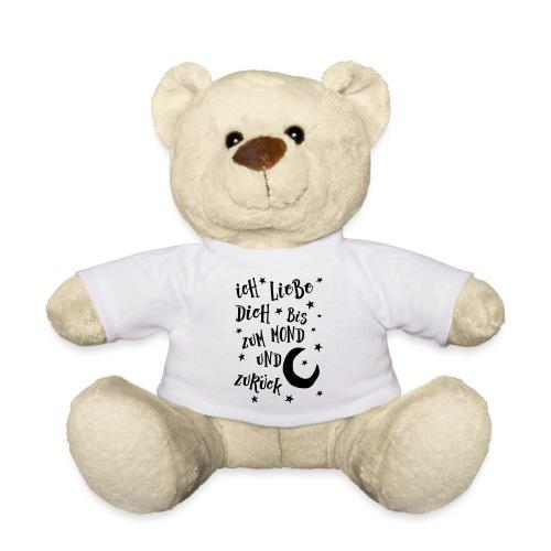 Ich liebe dich bis zum Mond und zurück - Teddy