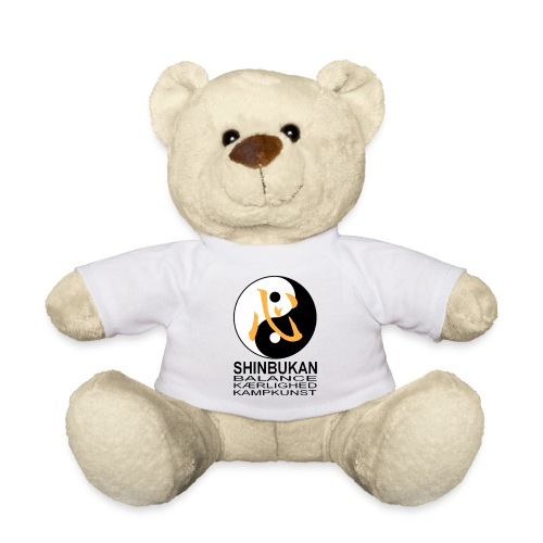 Shinbukan Tai Chi symbol og tegnet Kokoro - Teddybjørn