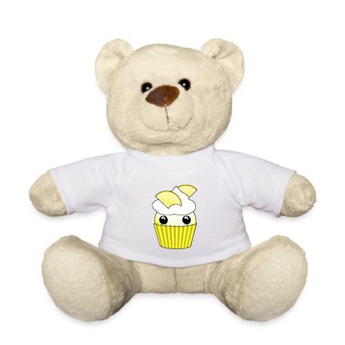 Kawaii lemon cupcake - Teddy Bear