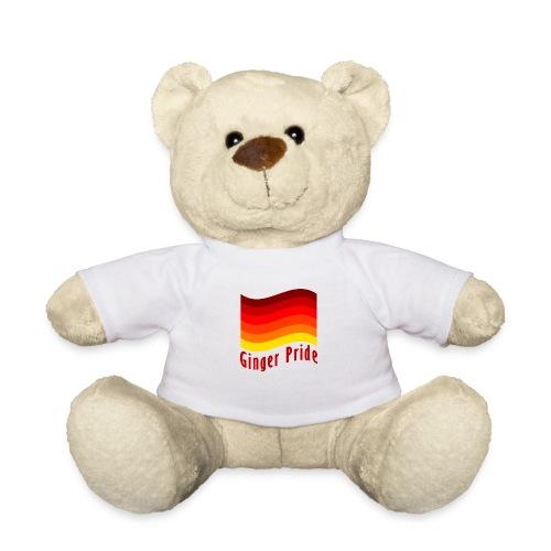 Ginger Pride flag Dark png - Teddy Bear