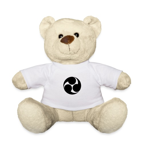 Kobayakawa Mon Japanese clan black - Teddy Bear