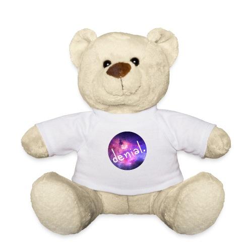 denial design wht lrg png - Teddy Bear
