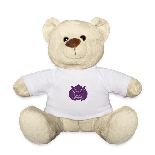 Usagi kamon japanese rabbit purple - Teddy Bear