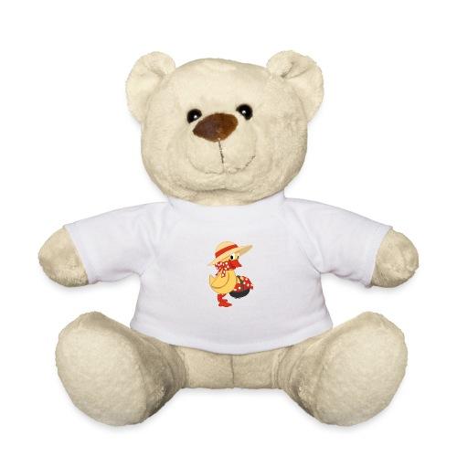 Schnatterinchen mit Korb - Teddy