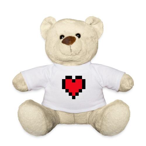 Pixel Heart - Teddy