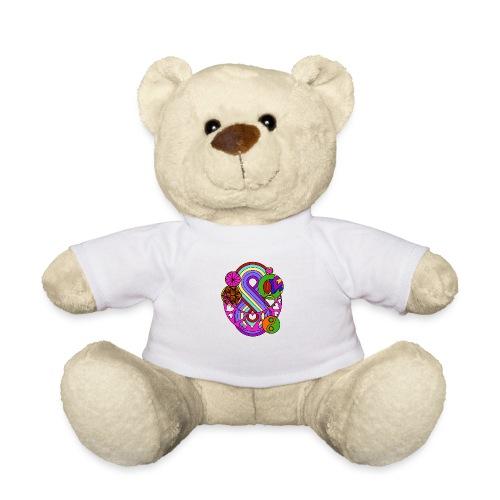 Colour Love Mandala - Teddy Bear