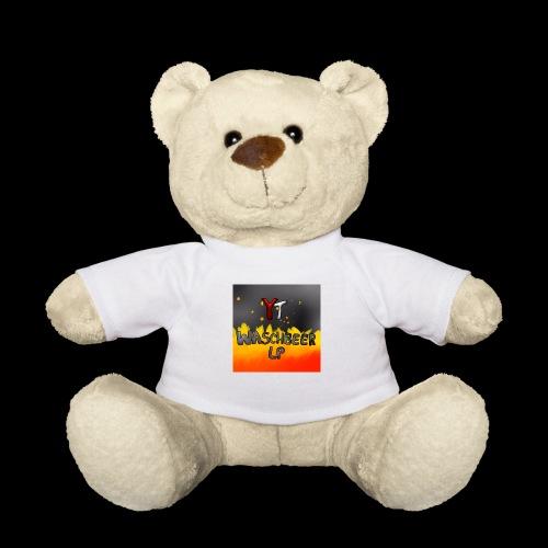 Waschbeer Design 2# Mit Flammen - Teddy