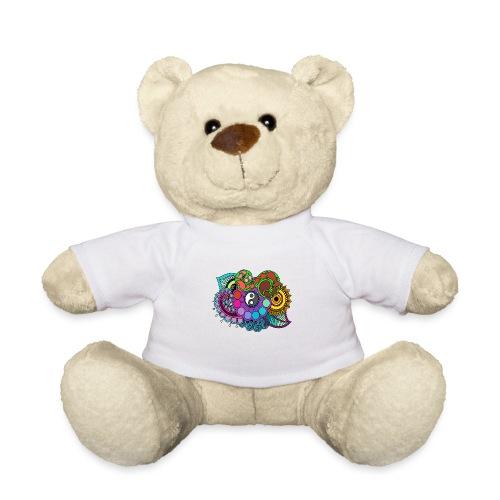 Coloured Nature Mandala - Teddy Bear