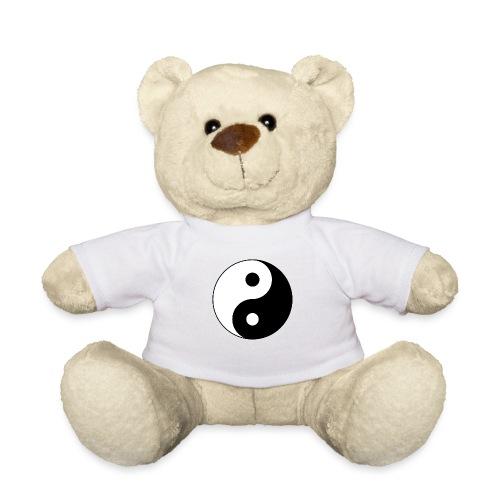Yin Yang balance in life - Teddy Bear