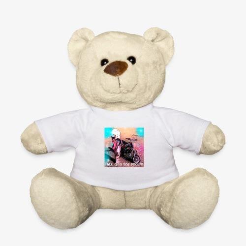 Real girls ride enduro - Teddy Bear