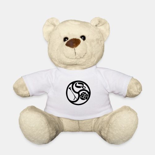 Triskele triskelion BDSM Emblem HiRes 1 color - Teddy