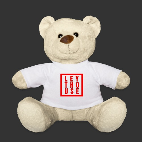 LEYTHOUSE Square red - Teddy Bear