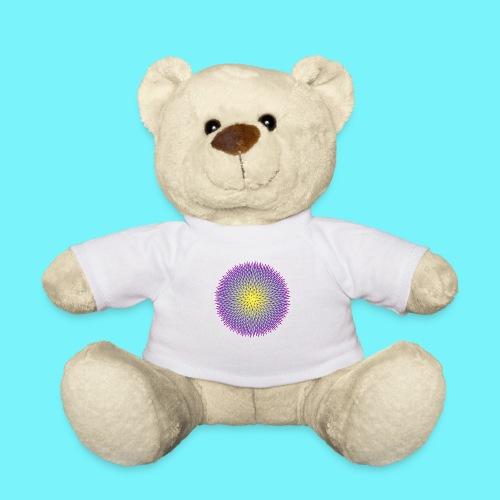 Fibonacci based image with radiating elements - Teddy Bear