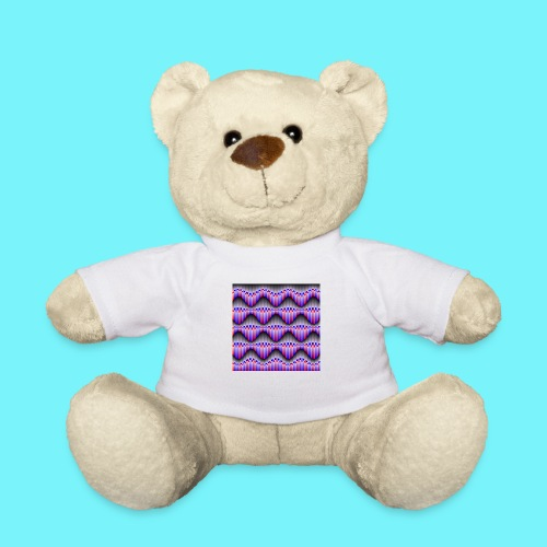 Sine waves in red and blue - Teddy Bear