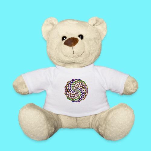 Mandala in rainbow colours - Teddy Bear