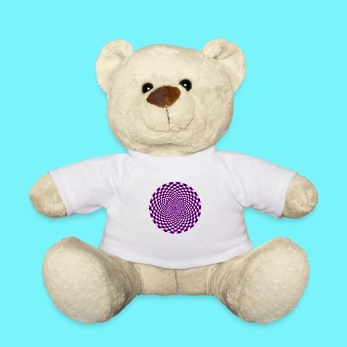 Mandala figure from rhombus shapes - Teddy Bear