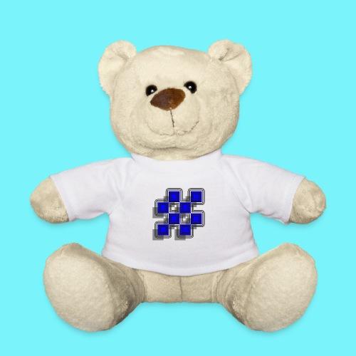 Blue Blocks with shadows and perimeters - Teddy Bear