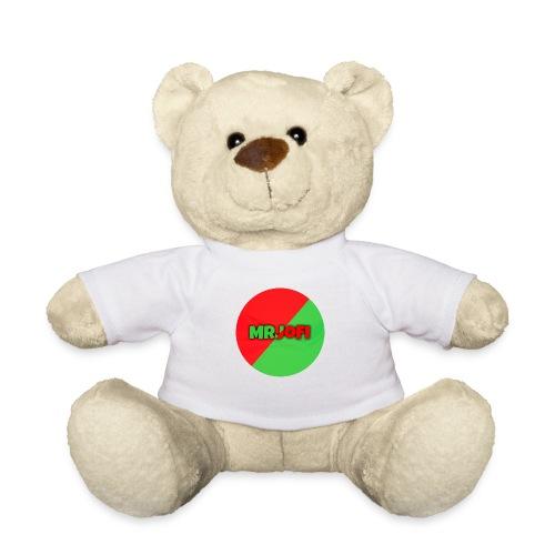 Knuffelbeer met shirt van MrJoFi logo - Teddy