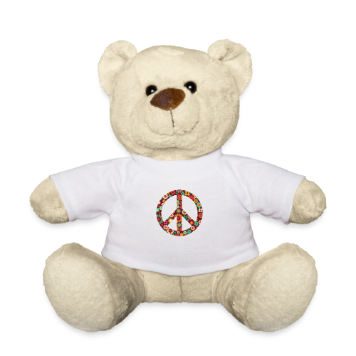 Flowers children - peace - Teddy Bear