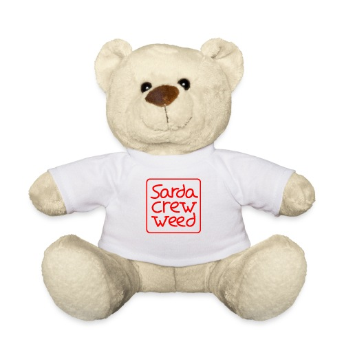 Logo Sarda Crew - Osito de peluche