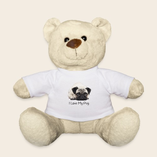 love my pug - Teddy