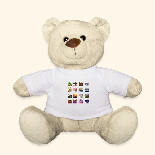 A Planet of Mine Animals - Teddy Bear