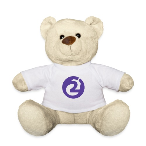 2Game Logo Purple - Teddy Bear