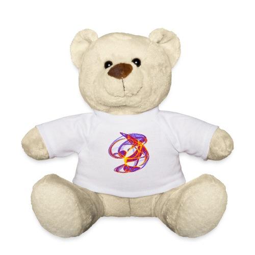 Farbenspiel der Clifford-Bahnen Aquarell 7839bry - Teddy