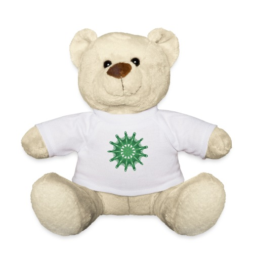 green steering wheel Green starfish 9376alg - Teddy Bear