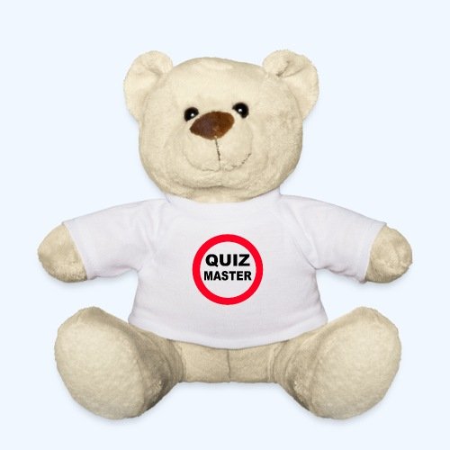 Quiz Master Stop Sign - Teddy Bear