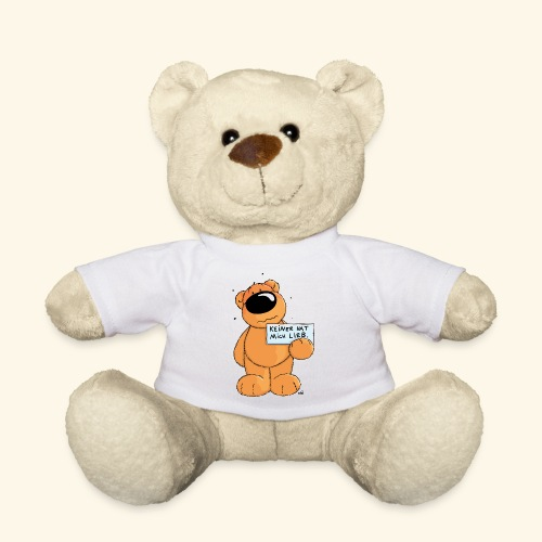 chris bears Keiner hat mich lieb - Teddy