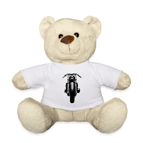 Motorcycle Front - Teddy Bear