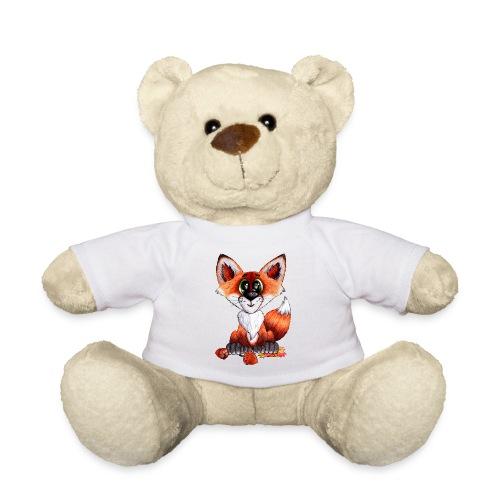 llwynogyn - a little red fox - Teddy