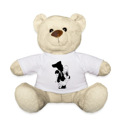 Babycarrying Super Hero Mom 05 - Nallebjörn
