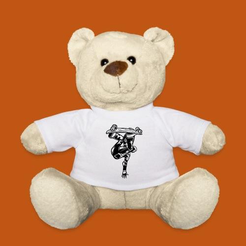 Skater / Skateboarder 03_schwarz - Teddy