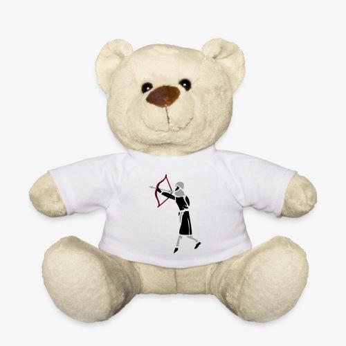 Archer Medieval Icon patjila design - Teddy Bear