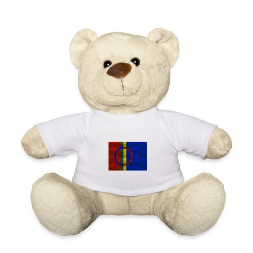 Sapmi flag - Teddybjørn