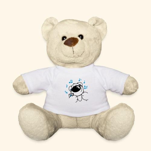 chris bear mit Kopfhörern - Teddy