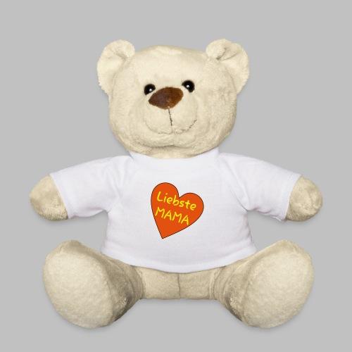Liebste Mama - Auf Herz ♥ - Teddy