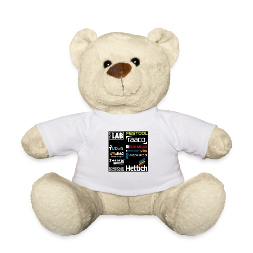 Sponsors back - Teddy Bear