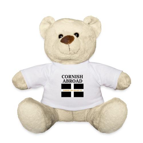 Cornish abroad - Teddy Bear