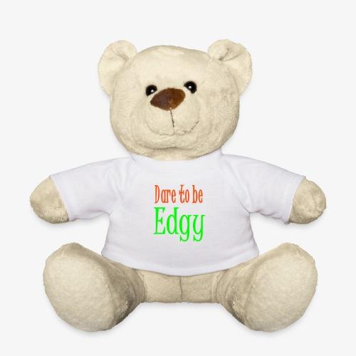 Edgy Glam Typography t-shirt design by patjila - Teddy Bear