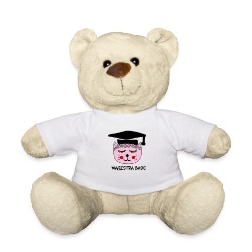 Akademikerin Katze MAGISTRA - Teddy