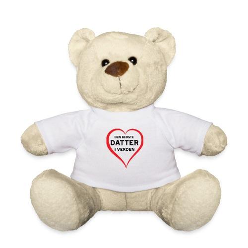Bedste datter i verden - Teddybjørn