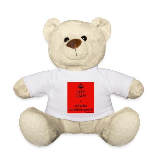 keepcalmaschwatzletzebuergesch - Teddy