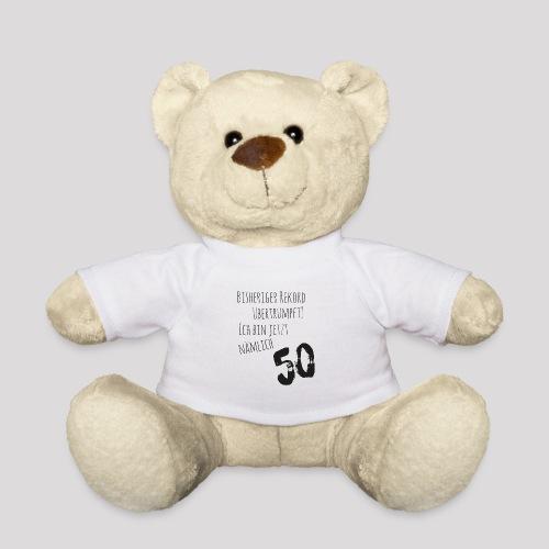 50er Geburtstag - Cooler Spruch - Teddy